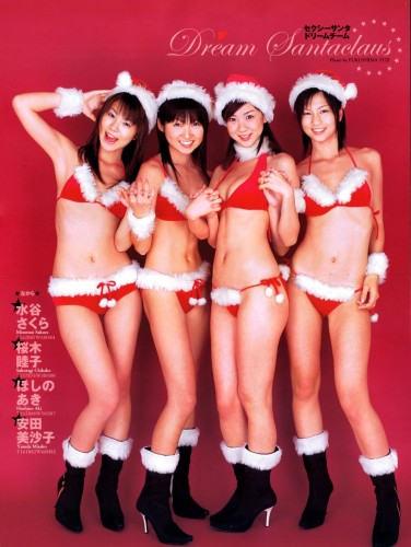sexy-christmas-santa-girls-asian