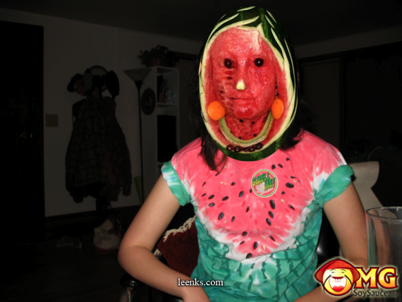 watermelon-face