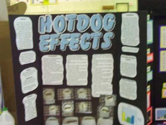 Funny Science Fair Projects. Funny school science projects