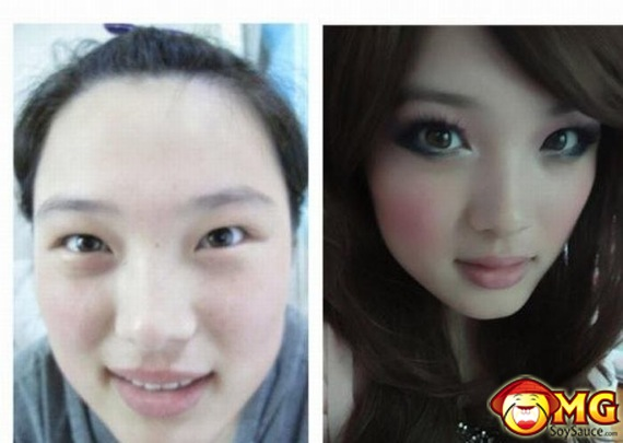 girl makeup Asian