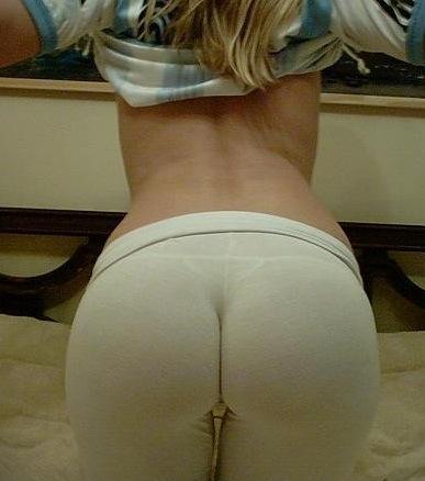pics Yoga pants butt