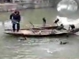Chinese Fisherman Trains Birds To Catch Fish