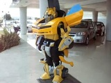 Awesome Transformers Camaro Costume