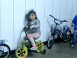 Awesome Little Girl Drifting Her Tiny Bike