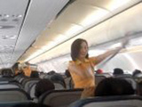 Only In The Philippines - Dancing Flight Attendants